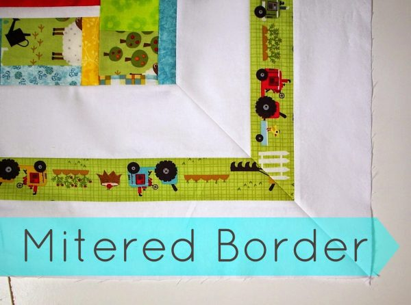 Mitered Border Quilt Tutorial