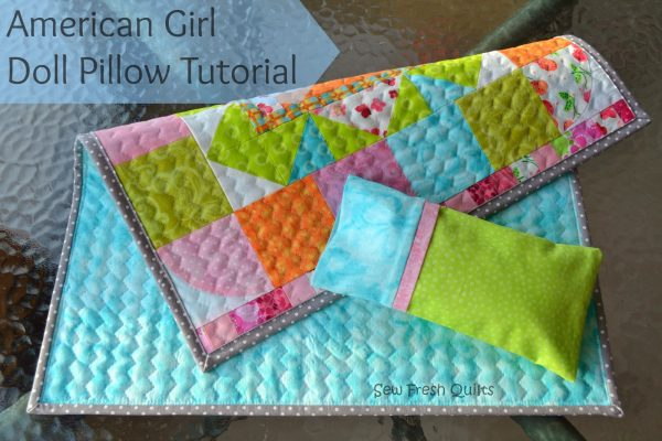 Pillow Case Tutorial with French Seams