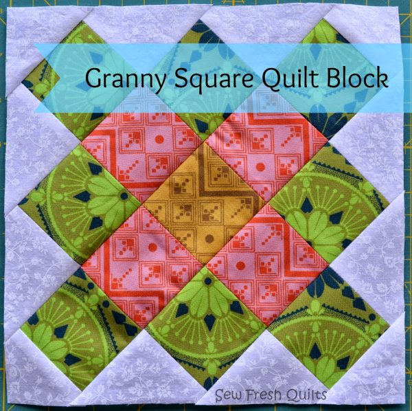 Granny Square Quilt Block Tutorial – Part 2