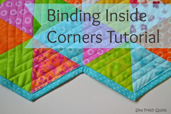 Binding Inside Corners Tutorial