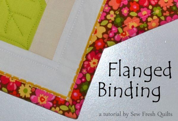 Flanged Binding Tutorial