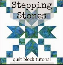 Stepping Stones Quilt Block Tutorial