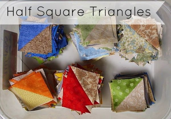Making Half Square Triangles – An Updated Tutorial