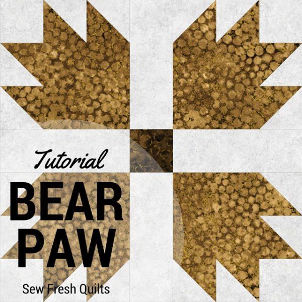 Bear Paw block tutorial
