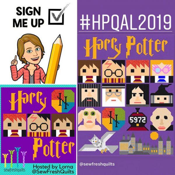 Harry Potter Quilt Along 2019