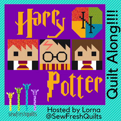 Harry Potter Quilt Along Link Up #3