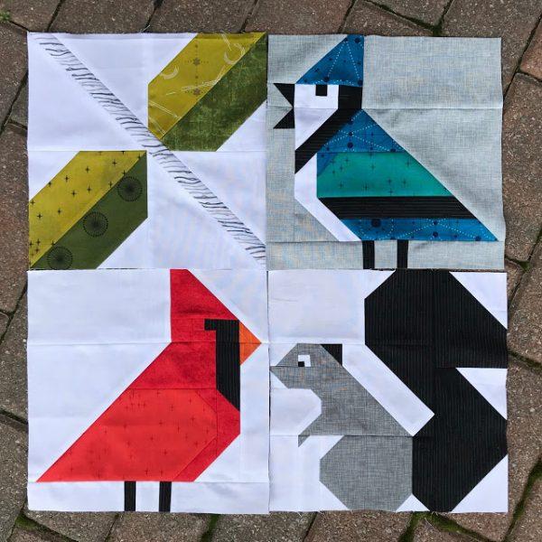 W is for Winter Birds