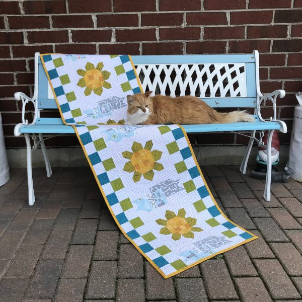 Paws Off {my table runner}!