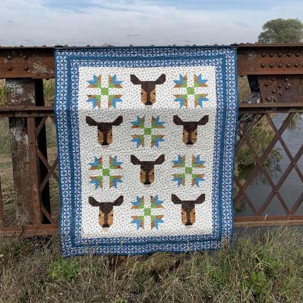 Deer and Goose Tracks quilt finish!