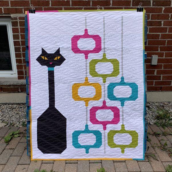 POD Cats quilt finish!
